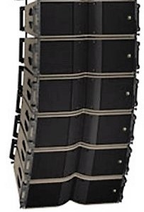 Location enceinte Line-Array - L'ACOUSTICS - KARA - PARIS