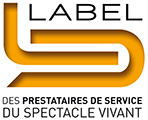 Logo : Le Label du spectacle vivant®