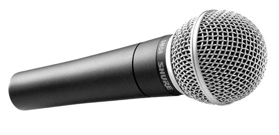 Location micro - SHURE - SM58 - PARIS